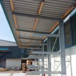 Kragarmregal mit Dachträgern